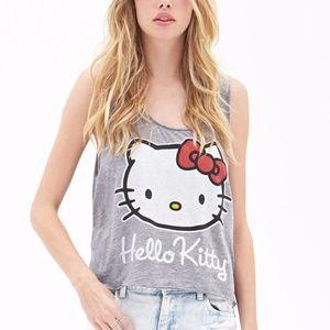 Hello Kitty Gray Tank!